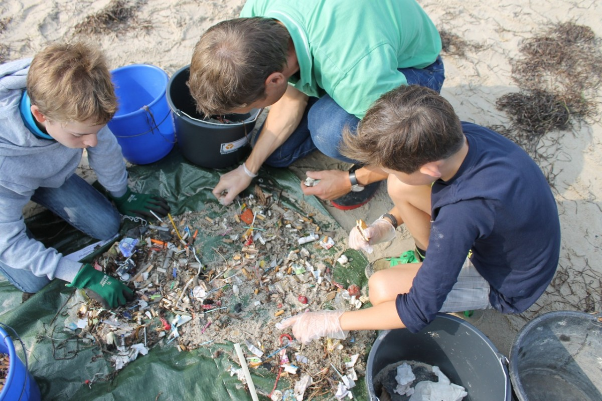 Coastal Cleanup Day in Kiel