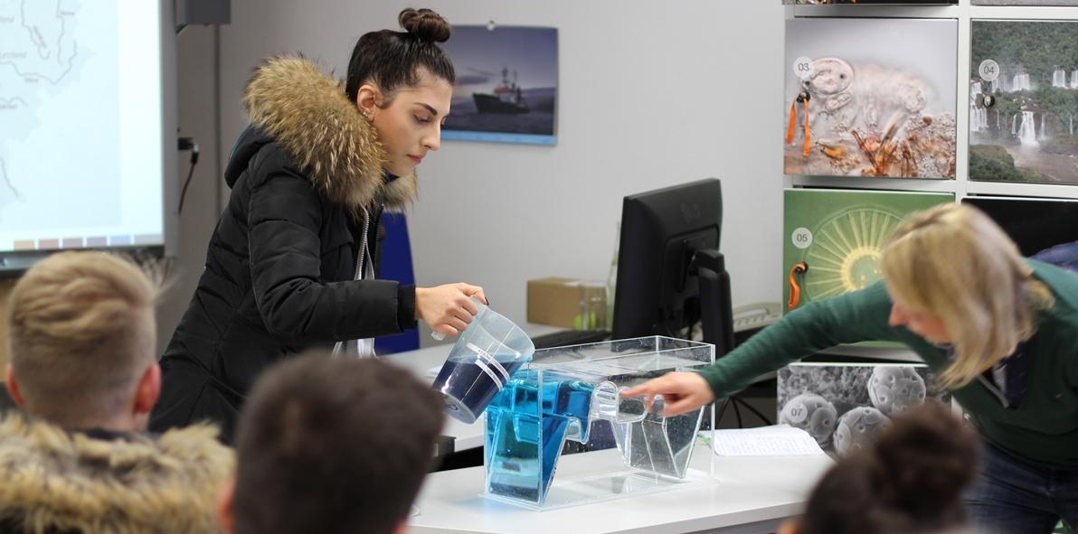 Eine Schülerin im Angebot Das Ökosystem Ostsee und die anthropogenen Einflüsse