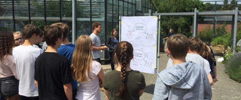 Im zeit:werk lernen Schülerinnen und Schüler historische Urteilsbildung