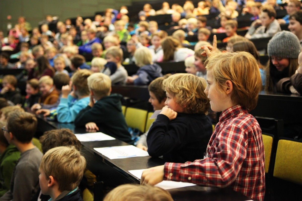 Die Kinder- und Schüleruni 2018/2019 startet am 28. November 2018