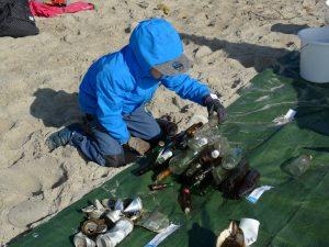 Coastal Cleanup 2017 an der Kieler Förde