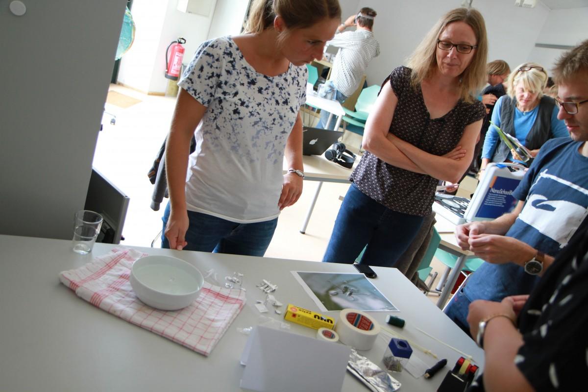 In der Nano Summer School geht es um dasThema Nanotechnologie im Unterricht