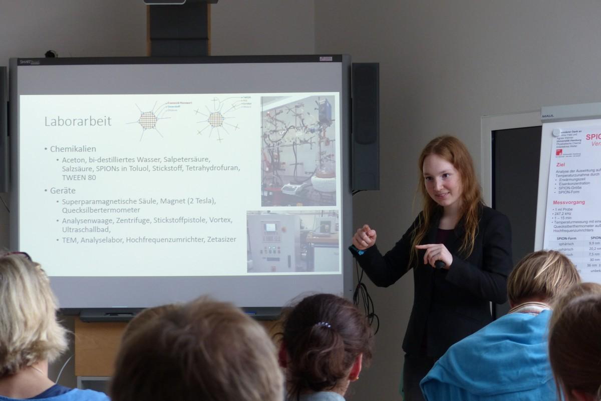 Vortrag be der Nano Summer School in der Kieler Forschngswerkstatt