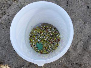 Plastik- und Styroporteile waren die am zweithäufigsten gefundenen Müllarten beim diesjährigen Coastal Cleanup in Kiel