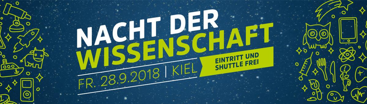 Bei der Nacht der Wissenschaft 2018 präsentiert scih die Kieler Forschungswerkstatt am IPN und im Botanischen Garten