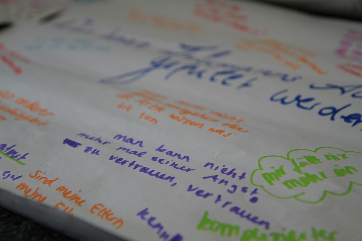 Das Angebot Vertrauen besuchen Jugendliche im reli:labor