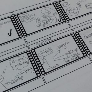 Storyboard Stop-Motion-Filme