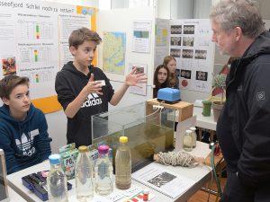 Schüler vom Netzwerk SFZ-SH beim Landeswettbewerb Schüler experimentieren
