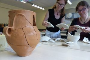 Fort- und Weiterbildung in der Summerschool Archäologie