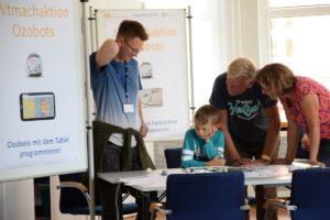 Angebote zur Robotik bei der Digitalen Woche Kiel