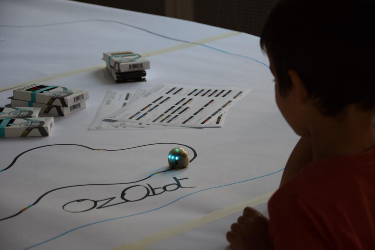Robotikangebot zum Tag der deutschen Einheit in Kiel