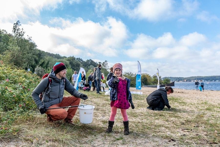 Coastal Cleanup an der Kieler Förde 2019