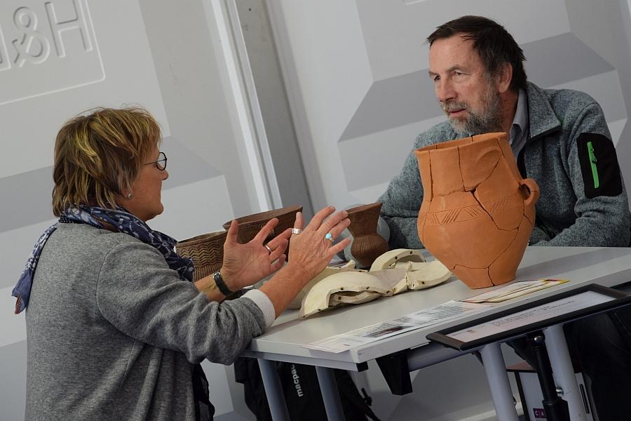 Fortbildung Archäologie in der Schule