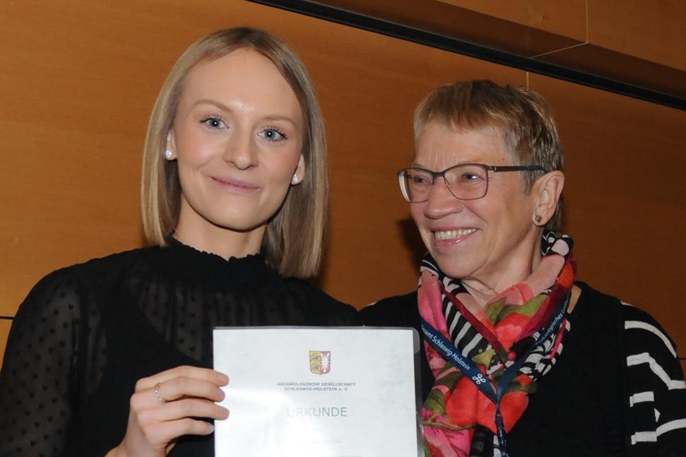 Hohe Auszeichnung für studentische Aushilfe der Kieler Forschungswerkstatt