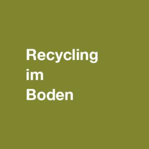 Boden in SH: Recycling im Boden