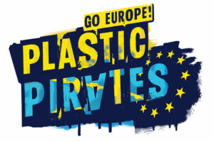 Logo Plastic Pirates - Go Europe!