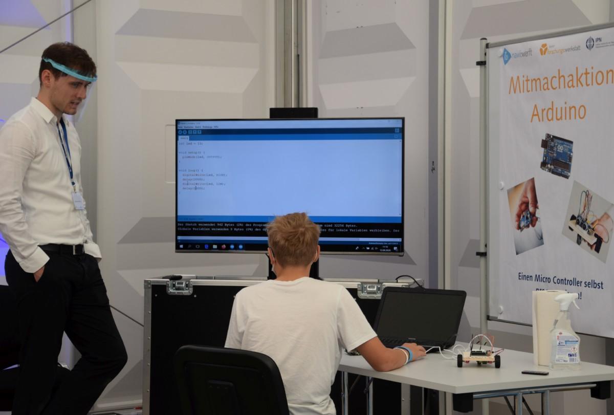 Mitmachaktion Arduino zur Digitalen Woche Kiel