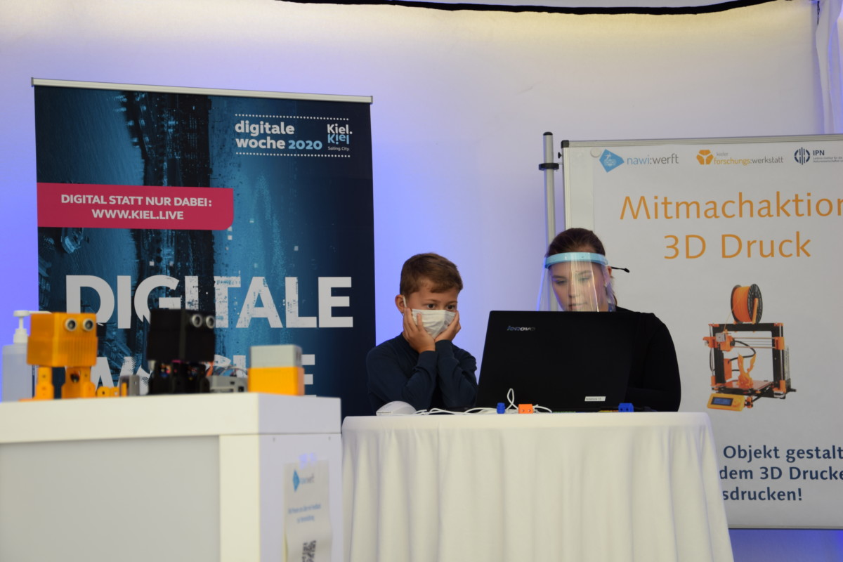 Mitmachangebot 3D-Druck zur Digitalen Woche Kiel