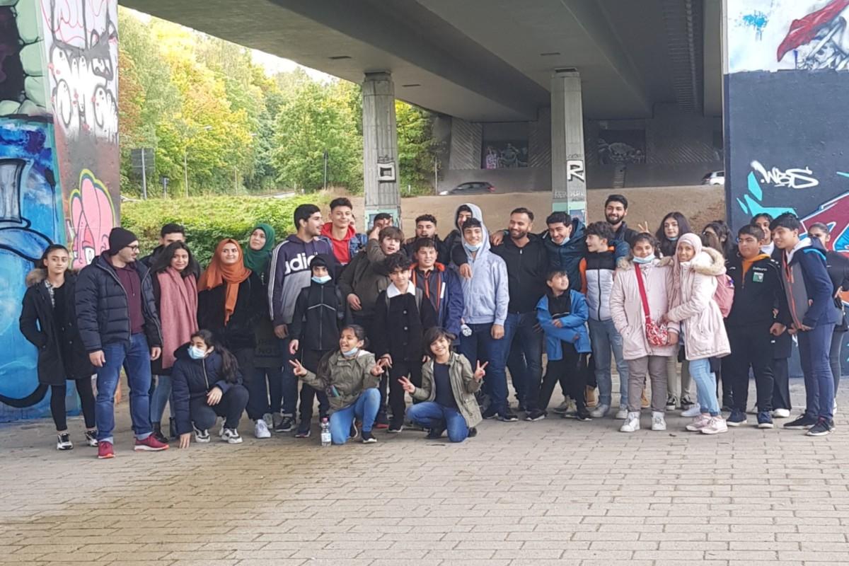 35 Kinder und Jugendliche beteiligten sich an der Schwentine an der Citizen Science Aktion Plastic Pirates - Go Europe!